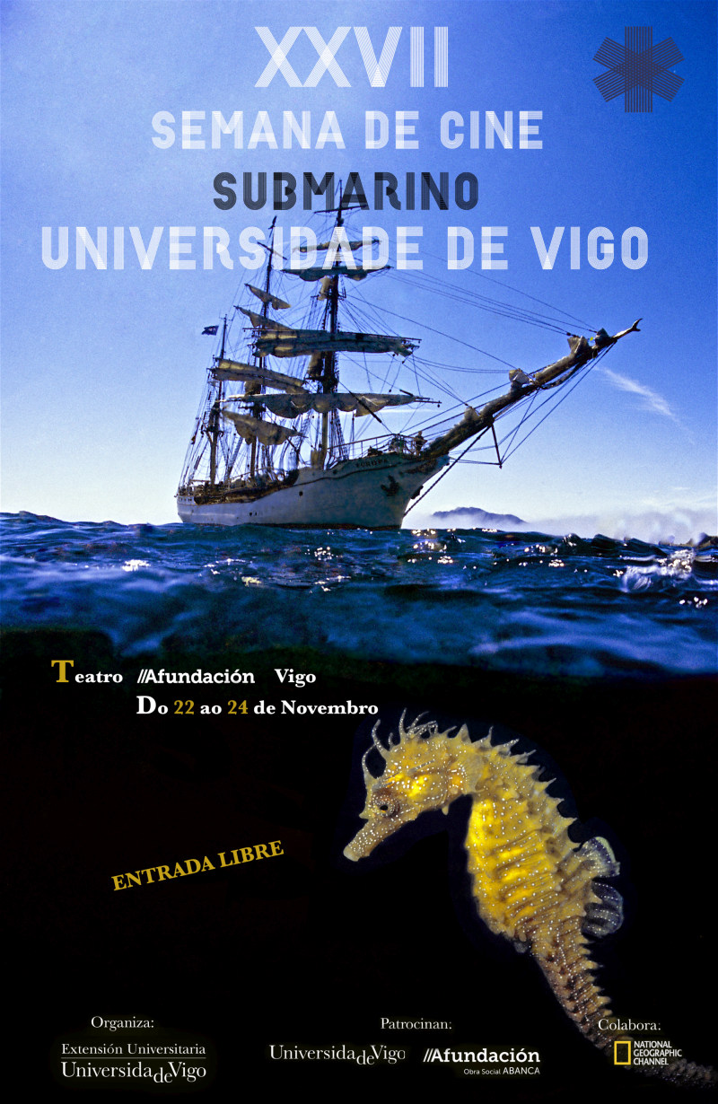 XXVII Semana de Cine Submarino Universidade de Vigo