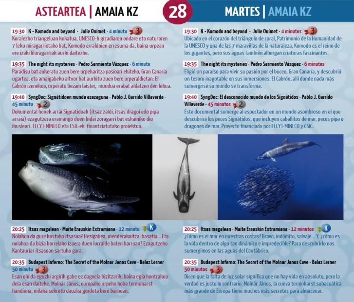 Programa Martes 28 Nov.2017